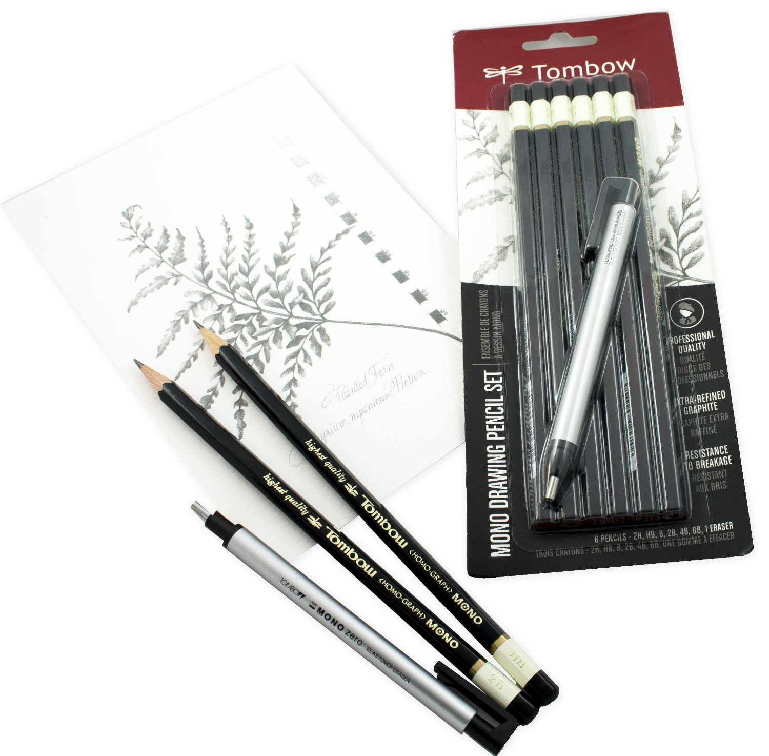 Tombow pencil 6pak for artists