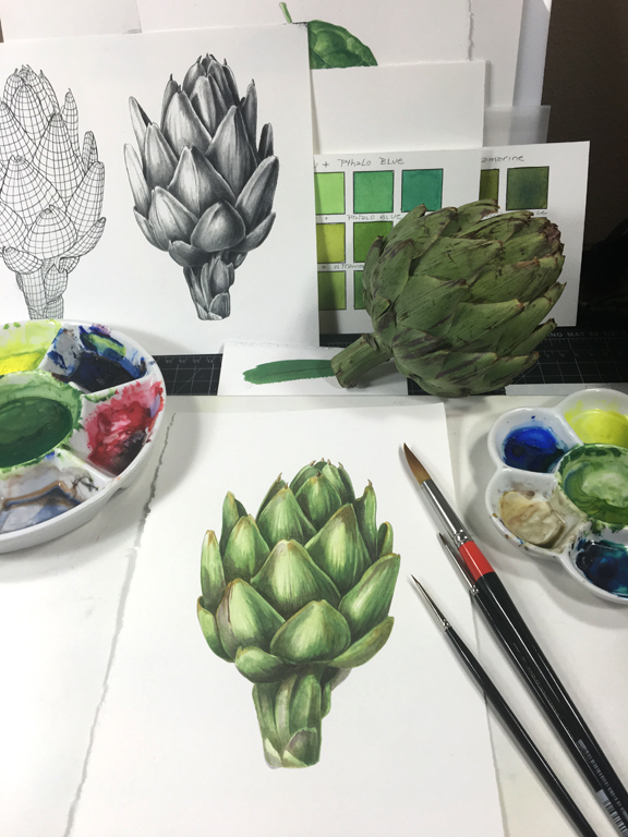 Wonderful Watercolor with Mindy Lighthipe